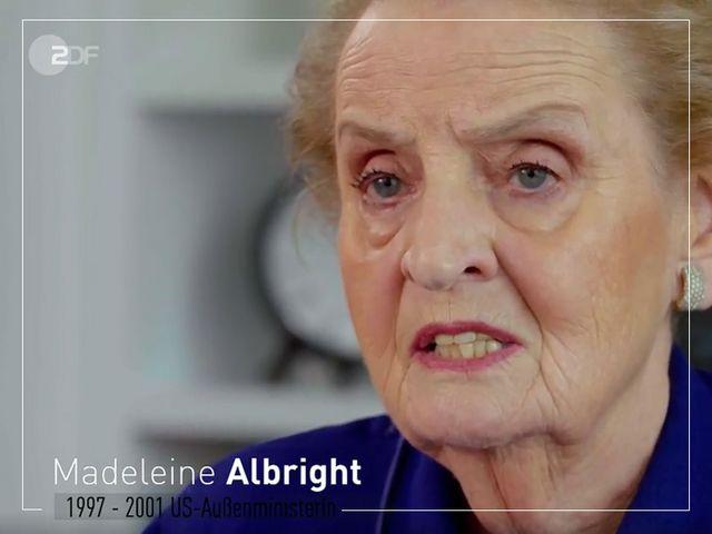 Heute im ZDF: »Unantastbar – Der Kampf für Menschenrechte« mit Madeleine Albright