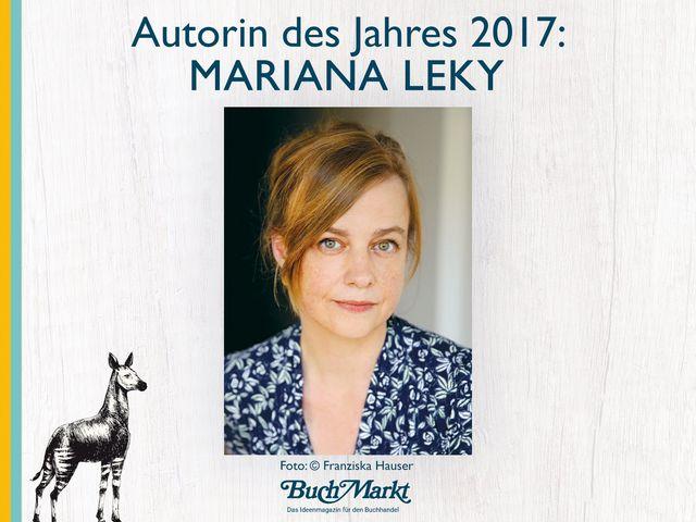 Mariana Leky zur Autorin des Jahres 2017 gekürt