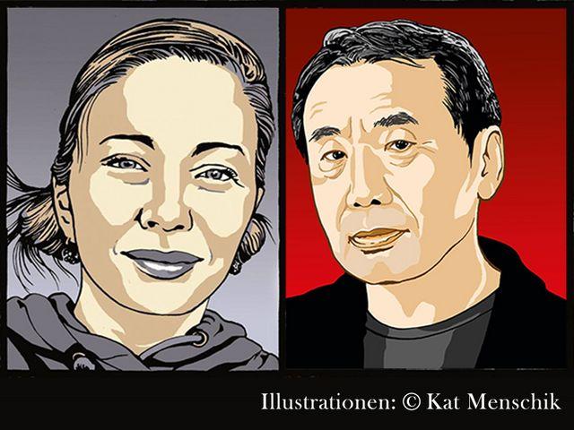 Kat Menschik in Tokio (feat. Haruki Murakami)