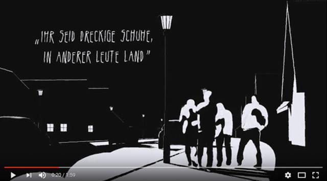 Kooperation: Buchtrailer zu Fikry El Azzouzis Roman »Wir da draußen«