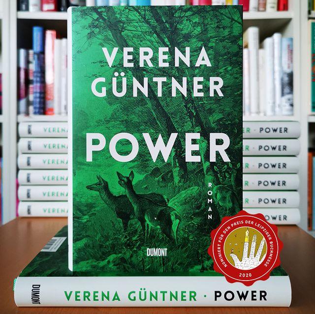 »Power« von Verena Güntner für den Preis der Leipziger Buchmesse nominiert