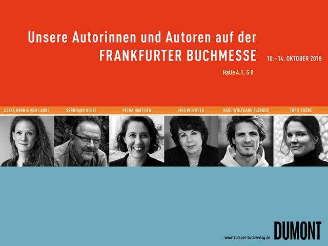 Unsere Autorinnen und Autoren auf der Frankfurter Buchmesse