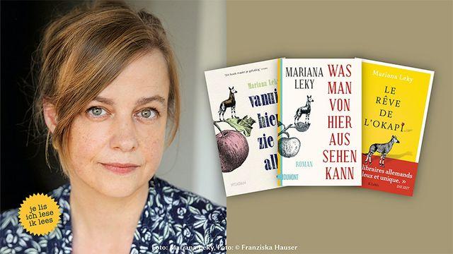 Mariana Leky erhält den Euregio-Schüler-Literaturpreis 2020