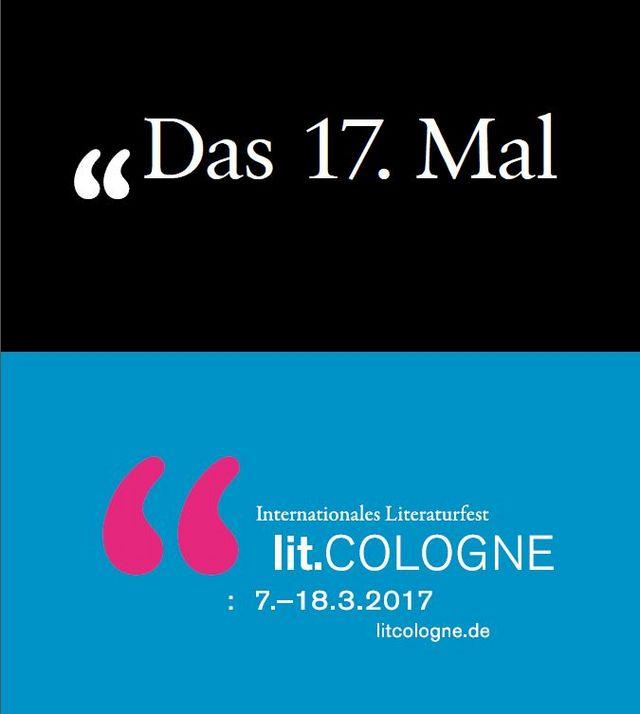 Unsere Autorinnen und Autoren auf der lit.Cologne 2017