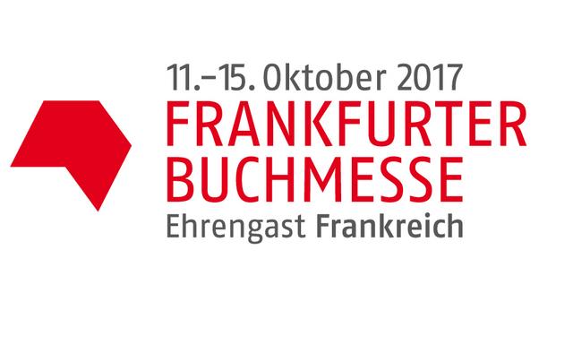 Michel Houellebecq und Delphine de Vigan auf der Frankfurter Buchmesse 2017