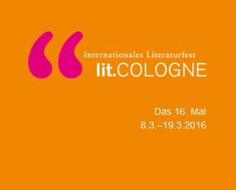 Unsere Autorinnen und Autoren auf der lit. COLOGNE 2016