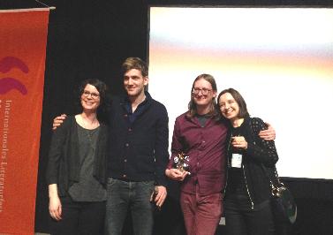 Sascha Macht gewinnt den Silberschwein-Preis 2016!